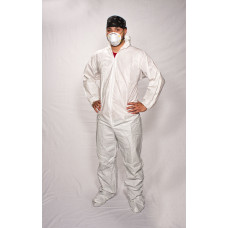 Maxshield™ Coveralls with Hood and Boot